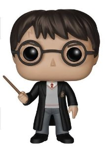Funko Pop 01 Harry Potter com Varinha