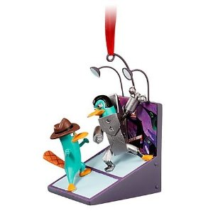 Cenário Disney Phineas e Ferb - Agente P e Plataborg na segunda dimensão