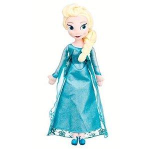 Pelúcia Original Disney Frozen Elsa 50CM
