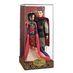 Boneca Mulan e Li Shang (30cm) - Edição limitada Farytale Designer Collection