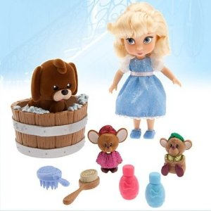 Conjunto Mini Animator Collection Cinderella 12cm