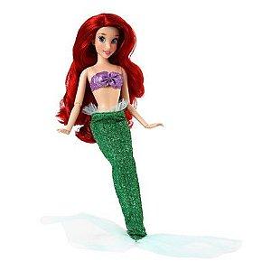 Disney Princesas Boneca Original Ariel Classica 30cm