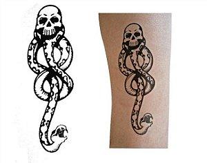 Tatuagem Marca Negra (kit com 2 tatoos)