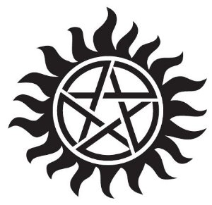 Tatuagem Supernatural (kit com 2 tatoos)