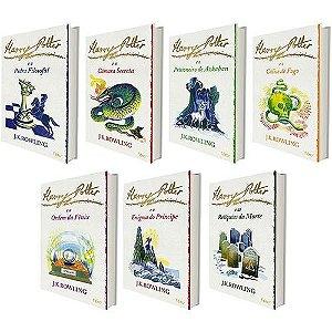 Coleção Harry Potter - Edição Limitada (7 Volumes) - Capa Branca