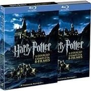 Blu-Ray Coleção Harry Potter 1-7B (8 discos)
