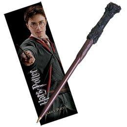 Caneta Original Varinha de Harry Potter e marcador de livro