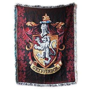 Exclusiva tapeçaria com o Brasão da Grifinória