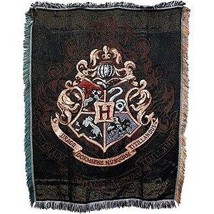 Exclusiva tapeçaria com o Brasão de Hogwarts