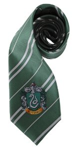 Gravata Harry Potter Slytherin - Sonserina (Por Elope)