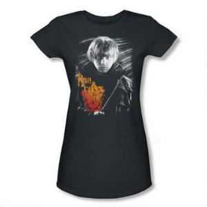 Exclusiva Camiseta Feminina Rony Weasley Oficial Harry Potter