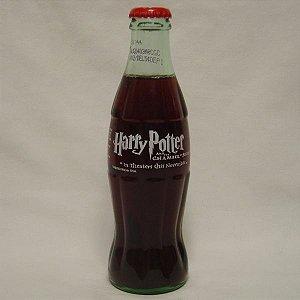 Exclusiva e Rara Coca-Cola Colecionável Harry Potter e a Câmara Secreta Natal 2001(uma unidade)