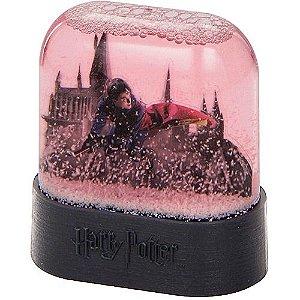 Miniatura do castelo de Hogwarts em Globo de Neve