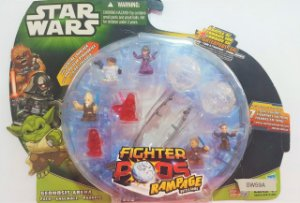 Star Wars Fighter Pods com 7 Figuras aleatórias