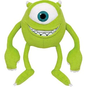 Pelúcia Do Mike Wazowski 28CM