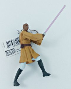 Chaveiro Star Wars Mace Windu 7,5cm