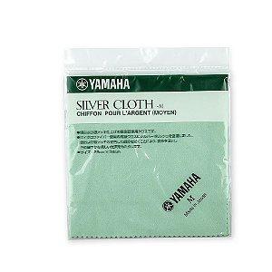 Tecido Médio Yamaha para Polimento de Instrumentos Prateados (Silver Cloth M)