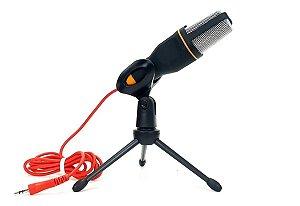 Microfone Condensador P2 MXT MX-MC017 Com Tripé De Mesa