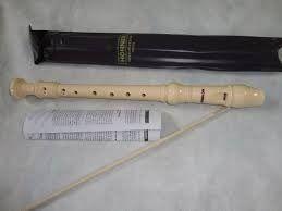 Flauta Germanica Descant Ivory C - Hohner
