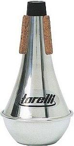 Surdina Para Trompete Alumínio Torelli Ta113 Straight Mute