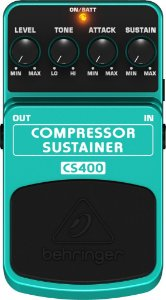 Pedal Behringer Compressor Sustainer CS400