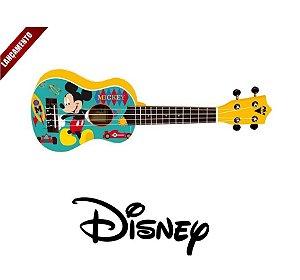 Ukulele Mickey Soprano PHX Infantil Com Capa UKP-MK1