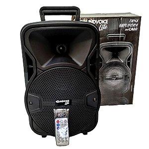 Caixa de Som Ativa Soundvoice Lite CA80 Bluetooth 60W RMS