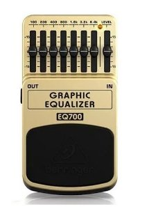 Pedal Behringer Equalizador Grafico Eq700 - Grafic Equalizer