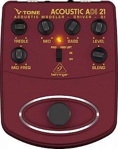 Pedal Behringer Simulador Acústico Direct Box Adi21