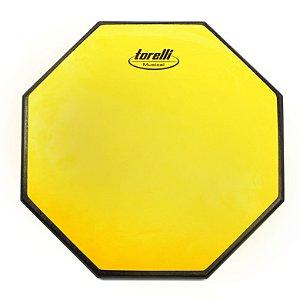 """Pad de Estudo Torelli TPE564 Yellow Especial 12"""" Dupla Face"""