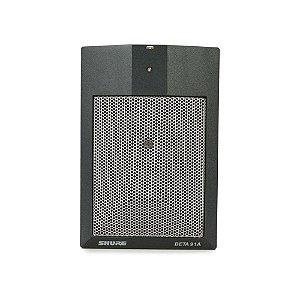 Microfone com fio condensador cardioide para instrumentos - BETA 91A - Shure