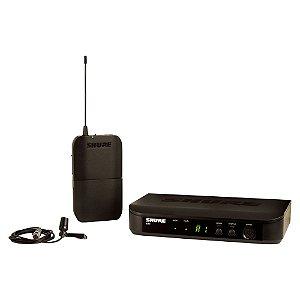 Sistema de Microfone sem fio com lapela e bodypack - BLX14BR/CVL-J10 - Shure