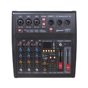 Mesa de Som 3 Canais, Interface/bluetooth - LMC3 USB - Lexsen