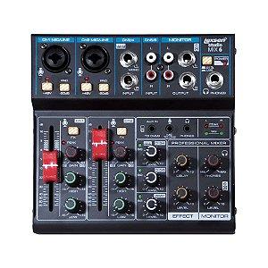 Mesa de Som 6 Canais, Interface/bluetooth - STUDIO MIX 6 - Lexsen