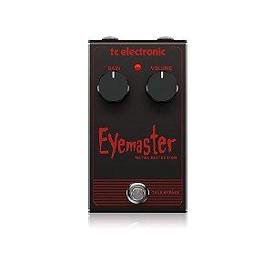 Pedal para Guitarra Eyemaster Metal Distortion - TC Electronic