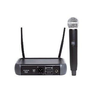 Microfone sem fio UHF Bi-Volt PLL com 1 canal- LM-58U PLL - Lexsen