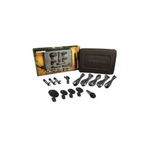 Kit de Microfone para Bateria com 5 pecas - PGADRUMKIT5 - Shure