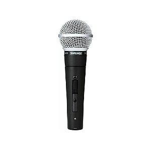 Microfone de mao dinamico unidirecional com fio - SM58S - Shure