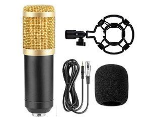 Microfone Condensador MXT MX 700 Estudio Youtuber Live
