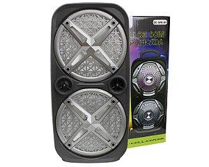 """Caixa de Som Portátil XCell XC SPK 09 Bluetooth 8"""" 150W"""
