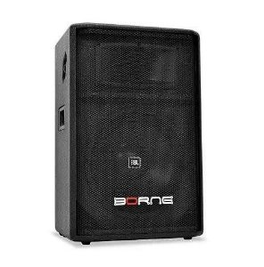 Caixa Ativa Borne Hg300 Titanium Falante 12 Jbl 200W RMS Com Bluetooth