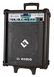 Caixa De Som Amplificada LL Audio Stone 250 Com 60W E Microfone