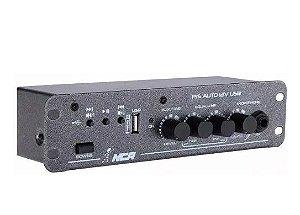 Amplificador Pre Auto LL Audio Nca 12v Com Usb
