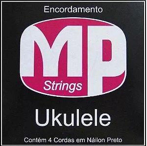 Encordoamento MP Strings Para Ukulele Com 4 Cordas