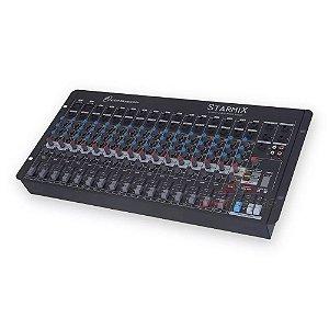 Mesa De Som Starmix Ll Audio Com 16 Canais S1602d