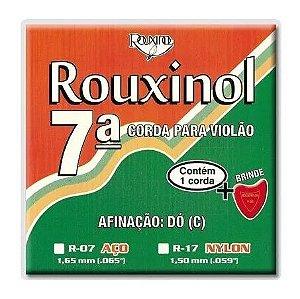 Encordoamento Para Violão Rouxinol Nylon 7º Corda