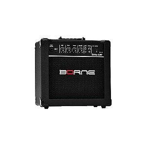 Amplificador Para Guitarra Estudo Borne Strike G30 Preto 15W