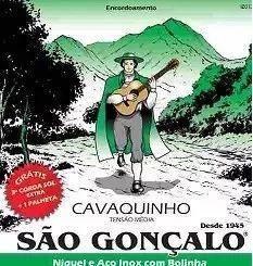 Kit Cavaco Capo Cordas São Gonçalo Palhetas Encordoador