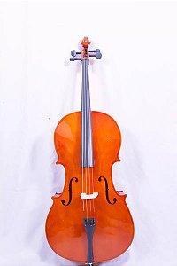 Violoncelo Jahnke 4/4 Verniz Com Capa Extra Luxo Arco Breu
