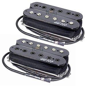 Par De Captadores Guitarra Malagoli Ponte E Braço Hh777